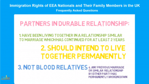 Extended Family Members of EEA Nationals in the UK (3 of 4)